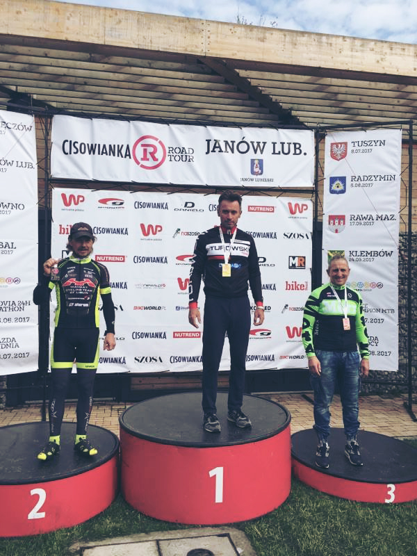 Team Turowski na podium